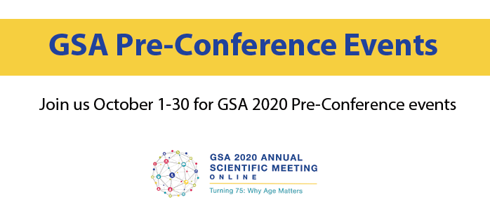 October Pre-Conference Events