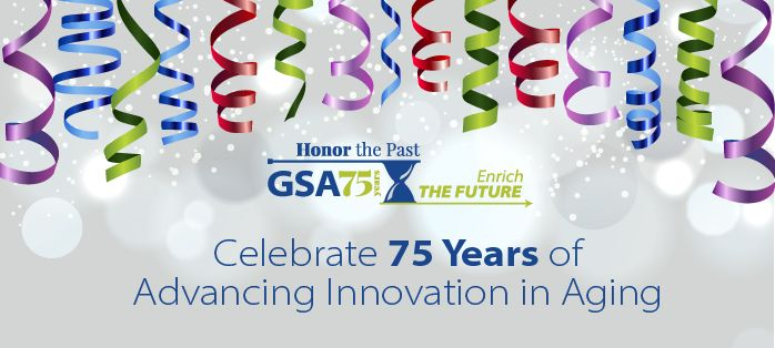 GSA's 75th Anniversary