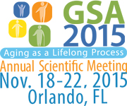 gsa 2015 annual scientific meeting
